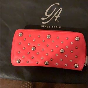 Brand New Grace Adele Clutch Coral